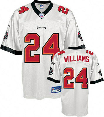 NFL Football Trikot Jersey TAMPA BAY BUCCANEERS Cadillac Williams Nr 24 white