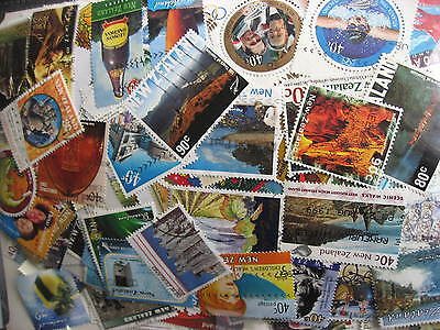 NEW ZEALAND excellent mixture (duplicates,mixed cond) of 2,000 76% commems