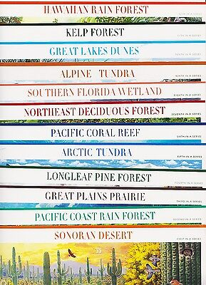 1999-2010  Nature of America 12 full mint sheets Sc 3293/4474  Complete!