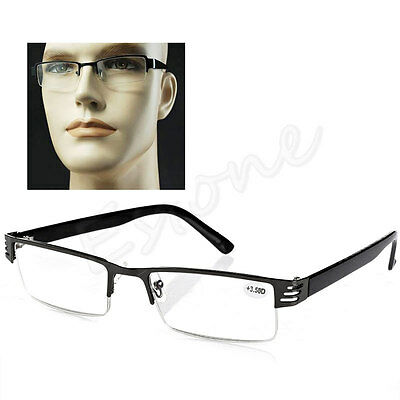 NEW Blue Film Resin Reading Glasses +1.00 1.50 2.00 2.50 3.00 3.50 4.00 Diopter