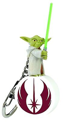 Star Wars YODA Keychain Keyring Jedi  Retired Clone Trooper General Lucas S2 NEW