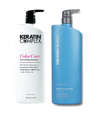 Keratin Complex Color Care Conditioner 1 Litre & Shampoo 1 Litre with Pumps