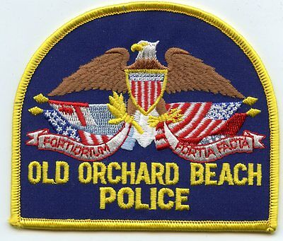 Old Orchard Beach Maine Me Police Patch