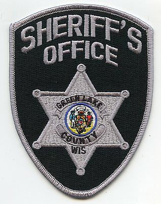 Green Lake County Wisconsin Wi Sheriff Police Patch