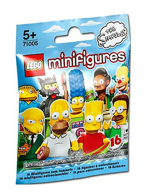 Lego CMF New Sealed Mystery Pack SIMPSONS Mini Figure Collectible Minifig Series