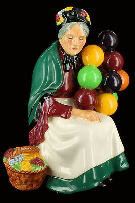 Vintage Royal Doulton The Old Balloon Seller Figurine HN1315 Old Woman