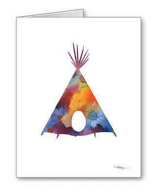 TEEPEE Note Cards With Envelopes