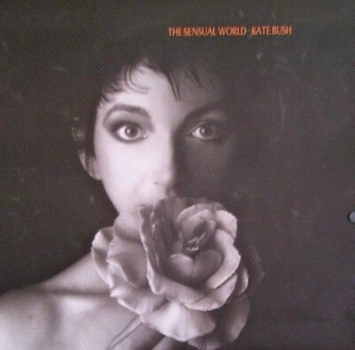 "KATE BUSH ""THE SENSUAL WORLD"" LARGE U.S. PROMO POSTER - Progressive Rock Music"