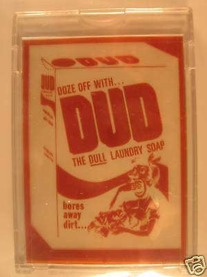 1980 Topps Wacky Packages Negative Dud