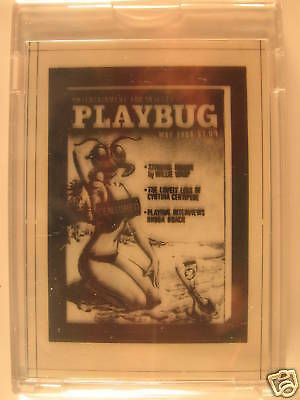 1980 Topps Wacky Packages Negative Playbug