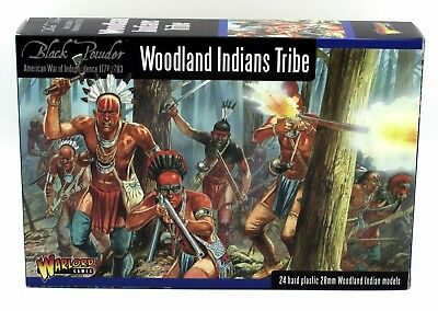 Black Powder 302015501 Woodland Indians Tribe (American War of Independence) AWI
