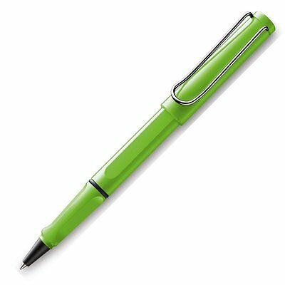 LAMY SAFARI SHINY GREEN  ROLLERBALL PEN  NEW IN BOX 313gn  LIMITED EDITION