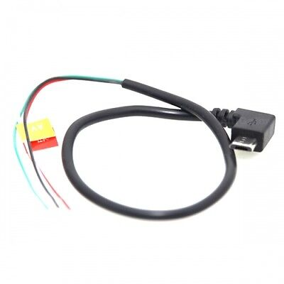 Cable Video Micro USB/AV Out FPV pour camera d'action AMKOV AMK5000S / AMK7000S