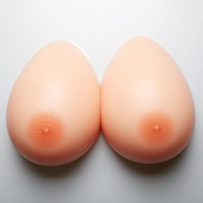 Silicone Breast Form Mastectomy TV Crossdresser Enhancer Fake Boob SunTan Colour
