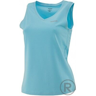 8-10 Reebok Ladies Classic Burnout vest Tank Top Tee Activewear Z82487 Size M