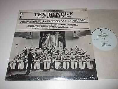 Lp/tex Beneke/instrumentals Never Before On Record/oty-1510/ Usa