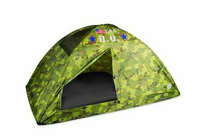 Pacific Play Tents HQ Twin Bed Tent  Camouflage NEW
