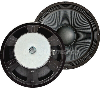 "38cm / 15"" DISCO-PA-MUSIKER-PARTY Lautsprecher Woofer 500 watt rms"
