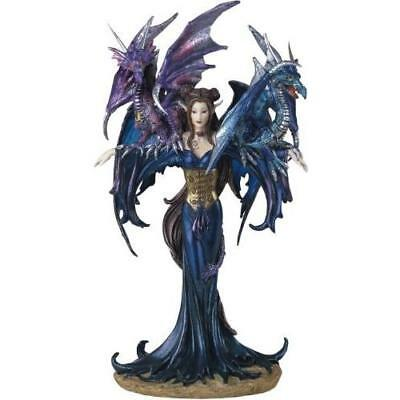 George S. Chen Imports SS-G-91276 Fairy Collection Pixie with Dragon Fantasy