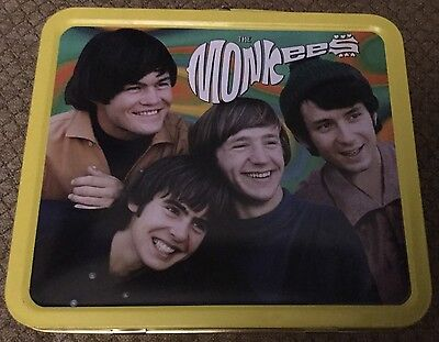 Vintage Metal Lunch Box Puzzle Vhs '97 The Monkees Collector's