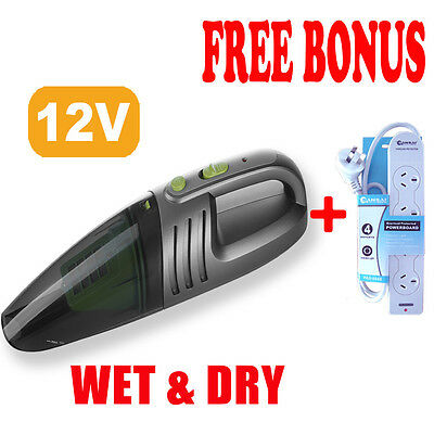 12V Powerful PORTABLE WET & DRY HANDHELD VACUUM CLEANER, OZ Stock,SANSAI