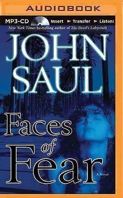 Faces of Fear by John Saul (2015, MP3 CD, Unabridged)