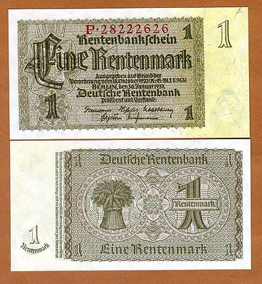 Germany, 1 Mark, 1937, P-173b WWII, UNC
