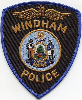 Windham Maine Me Police Patch