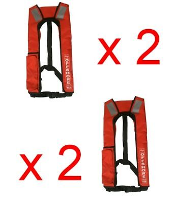 Axis Offshore  Inflatable PFD1 Lifejacket  X 2