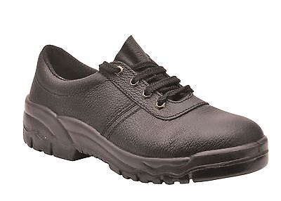 Portwest Protector Shoes Safety Work Steel Toe Cap & Midsole Sizes 2 - 16 FW14