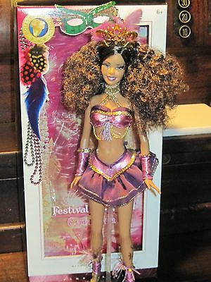 Festivals of the World J0927 Barbie Carnaval with box