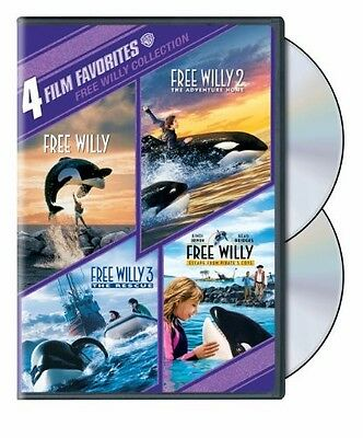 Free Willy Collection: 4 Film Favorites [2 Discs] [Dvd Ntsc/1 New]