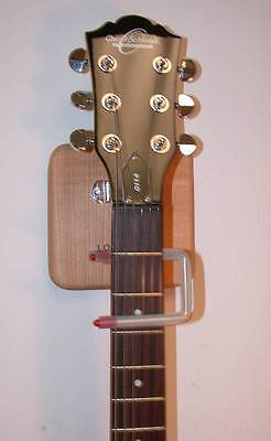 LOKSTAR Automatic Locking Guitar Wall Hanger, holds any Electric/Acoustic/Bass,