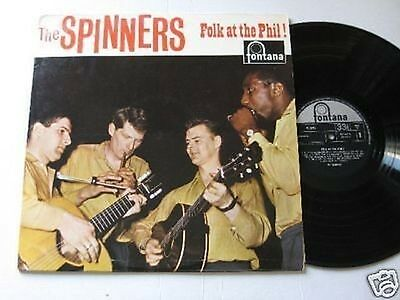 LP/THE SPINNERS Folk at the Phil! fontana 687324  1964