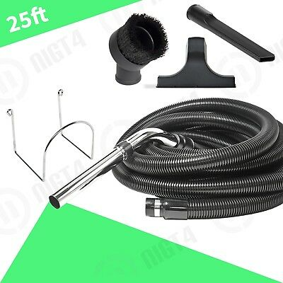25' BEAM CENTRAL VAC VACUUM KIT crushproof Hose Garage Kit