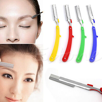 New Professional Faced Blade Tool Holder Eyebrow Repair Tool Holder Razor Rack