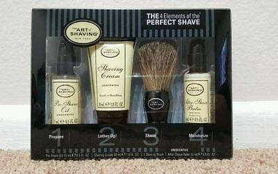 The Art Of Shaving 4 Elements of the Perfect Shave Starter Kit - Unscented