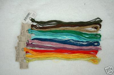 Overdyed Floss (Weeks Dye Works) 100-5 yd. skeins