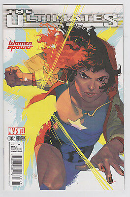 The Ultimates #5 Women of Power Variant Cover 2016 ANAD Marvel Comics Putri