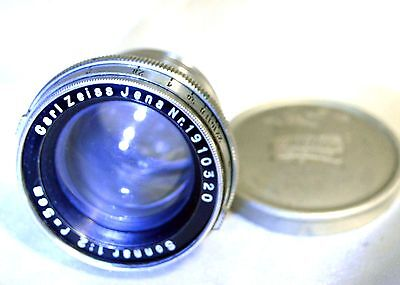 Carl Zeiss Jena Sonnar 5cm f2 Lens Contax rangefinder collapsible made in 1936