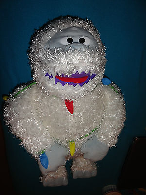 """NEW Rudolph 25"""" Bumbles The Abominable Snowman Christmas Lights Door Greeter"""