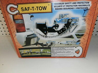 New Safety Tow Saf-T-Tow Towing Safety Latch System 2 Inch Receiver