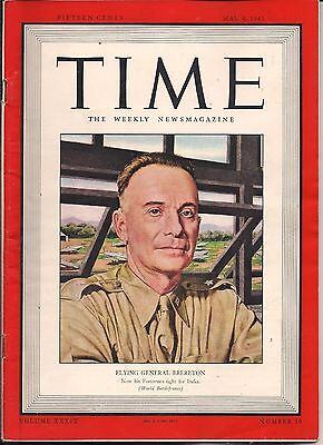 Flying General Brereton Time 1941 Fortress Fight For India World War Ii Coverage