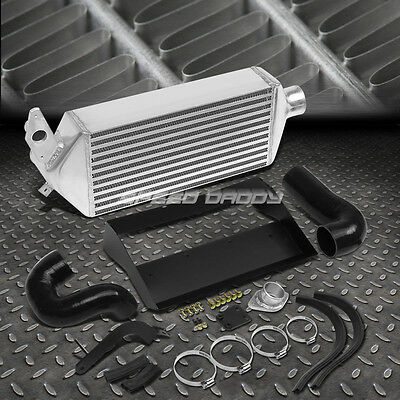 Top-Mount Bolt-On Aluminum Turbo Intercooler Kit For 08-14 Wrx Ej25 Gh Grb Gee