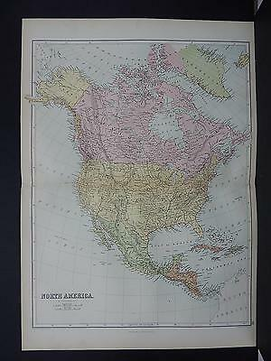 Black's 1876 Atlas, Map, North America, M2#28