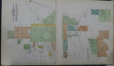 Wisconsin, Walworth County Map, 1930 Elkhorn, Double Page Map M4#04