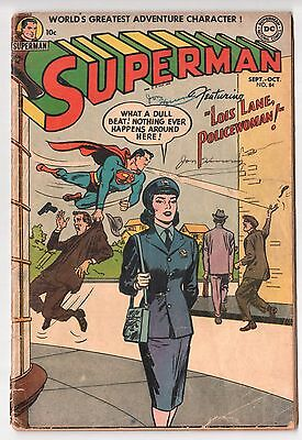 Superman #84 (1939 Series) DC Comics October 1953 GD