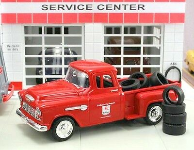 """New in Box  1/43 1955 Chevrolet Stepside  Pickup """"Mobil"""" with 10 Tires"""