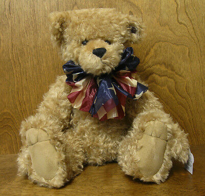 "Annette Funicello Bear #035 SAM 18"" Jointed Mohair Growler NEW From Retail Shop"