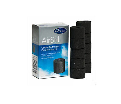 Air Still Replacement Carbon Cartridges Pack of 10 Home Brew Spirits